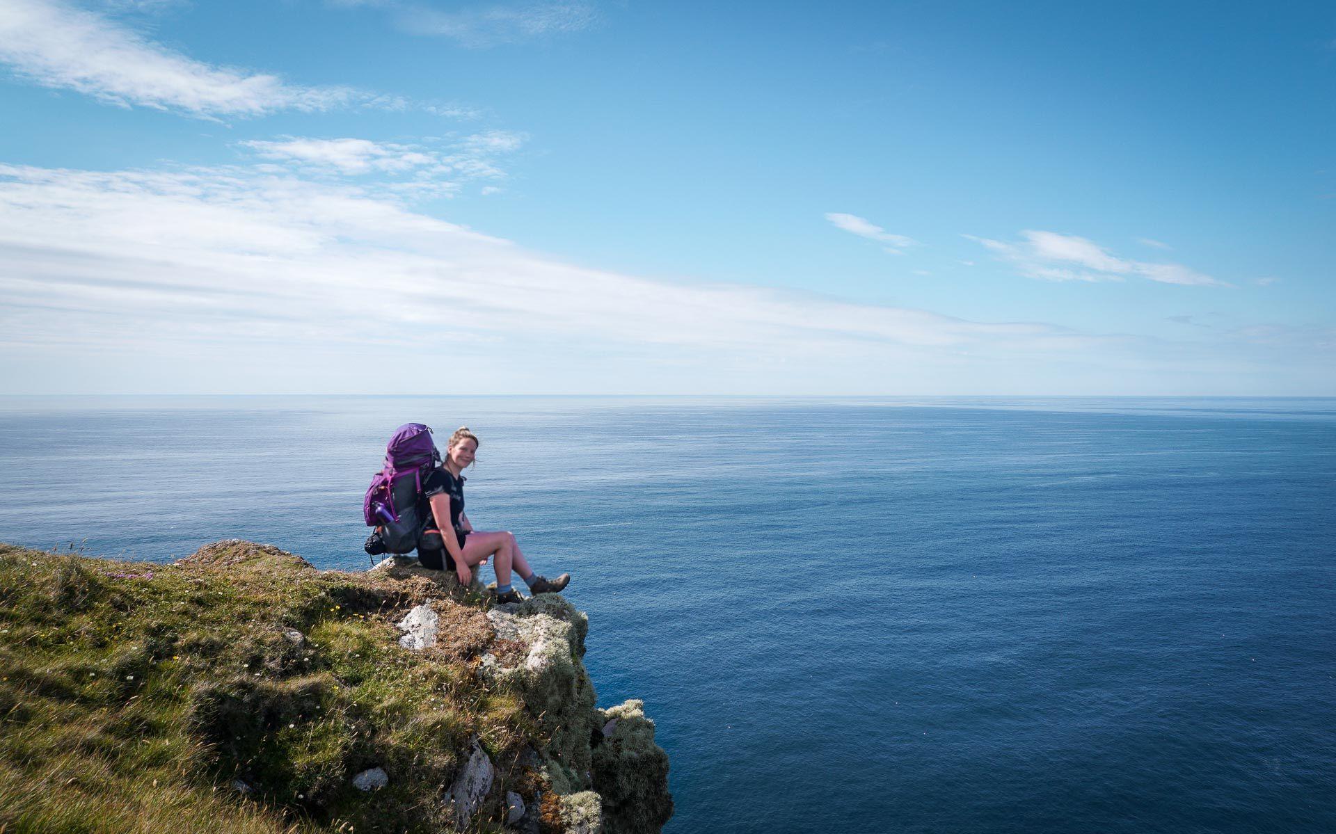 hiking Scotland solo